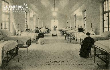 Cl 08 162 Caen Hôpital Civil Salle n°2 Chirurgie (Femme)