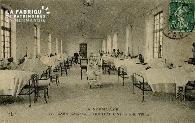 Cl 08 163 Caen Hôpital Civil SalleTillaux