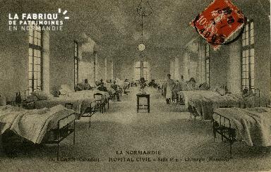 Cl 08 164 Caen Hôpital Civil Salle n°2 Chirurgie (Homme)