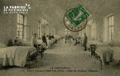 Cl 08 166 Caen Hôpital Civil Salle des Militaires (Médecine)