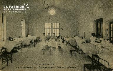 Cl 08 167 Caen Hôpital Civil Salle de la Maternité