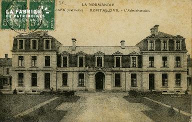 Cl 08 168 Caen Hôpital Civil l'Administration