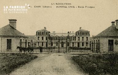 Cl 08 170 Caen Hôpital Civil Entrée Principale