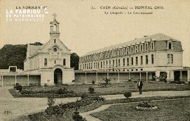 Cl 08 171 Caen Hôpital Civil la Chapelle-la Communauté