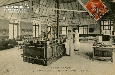 Cl 08 173 Caen Hôpital Civil la Cuisine