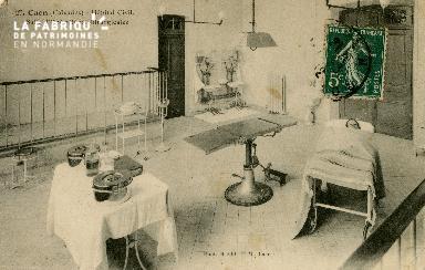 Cl 08 187 Caen Hôpital Civil Salle d'Opérations Chirurgicales
