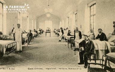 Cl 08 188 Caen Hôpital Civil Médecine Hommes (n°2)
