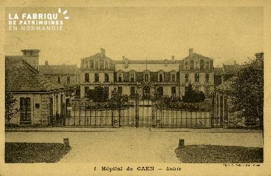 Cl 08 189 Caen Hôpital de Caen Entrée