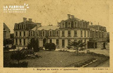 Cl 08 190 Caen Hôpital de Caen Administration