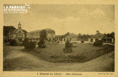 Cl 08 191 Caen Hôpital de Caen Cour d'Honneur
