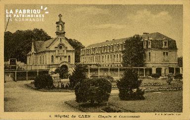 Cl 08 192 Caen Hôpital de Caen Chapelle et Communauté