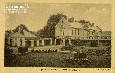 Cl 08 193 Caen Hôpital de Caen Pavillon Militaire
