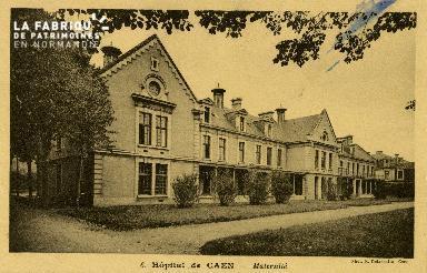 Cl 08 194 Caen Hôpital de Caen Maternité