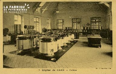 Cl 08 195 Caen Hôpital de Caen Cuisine