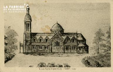 Cl 08 200 Caen future Eglise St Jean Eudes