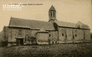 Cl 08 207 Caen ancienne Eglise le Sépulcre