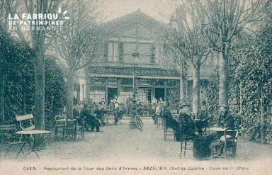 Cl 08 209 Caen Restaurant de la Tour des Gens d'Armes Arzalier Chef de
