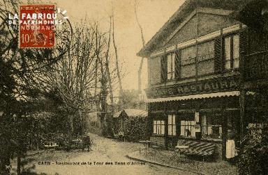 Cl 08 210 Caen Restaurant de la Tour des Gens d'Armes