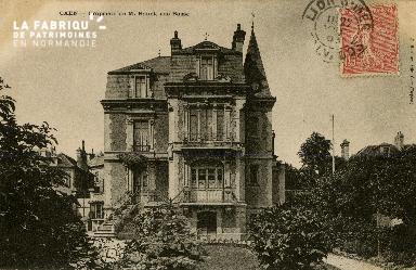 Cl 08 211 Caen Propriété de M. Bouet Rue Basse