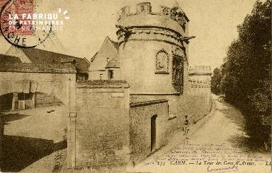 Cl 08 217 Caen la Tour des Gens d'Armes