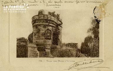 Cl 08 219 Caen Tour des Gens d'Armes