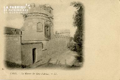 Cl 08 220 Caen le Manoir des Gens d'Armes