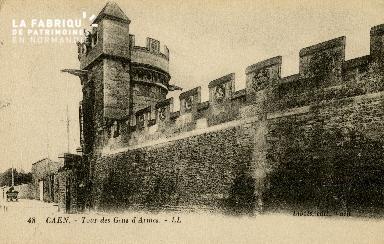 Cl 08 221 Caen Tour des Gens d'Armes
