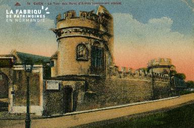 Cl 08 222 Caen la Tour des Gens d'Armes (monument classé)