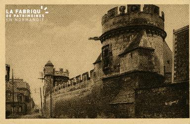 Cl 08 223 Caen Manoir des Gens d'Armes restes d'un Hôtel bâti sous Lou