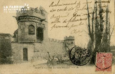 Cl 08 226 Caen la Tour des Gens d'Armes