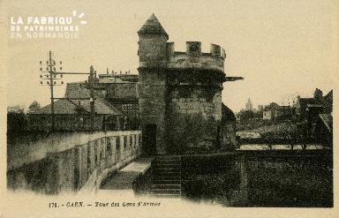 Cl 08 231 Caen Tour des Gens d'Armes