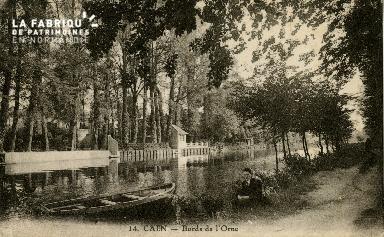 Cl 08 238 Caen Bords de l'Orne