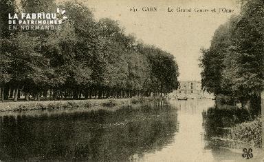 Cl 08 242 Caen le Grand Cours et l'Orne