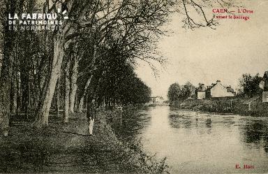 Cl 08 243 Caen l'Orne avant le barrage