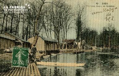 Cl 08 251 Caen première Ecole de Natation