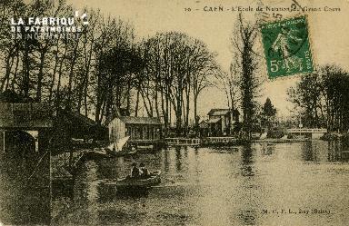 Cl 08 253 Caen Ecole de Natation du Grand Cours