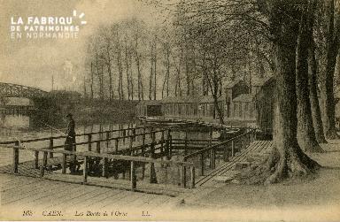 Cl 08 255 Caen les Bords de l'Orne