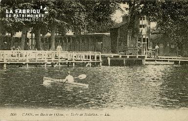 Cl 08 263 Caen Bord de l'Orne Ecole de Natation