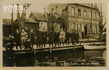 Cl 08 268 Caen le P.O. Maison Maës