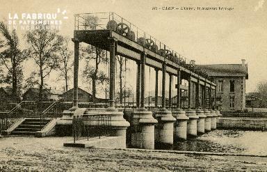 Cl 08 269 Caen l'Orne le nouveau Barrage