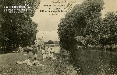 Cl 08 271 Caen bords de l'Orne en amont du Barrage