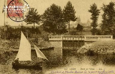 Cl 08 277 Caen Bords de l'Orne
