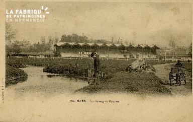 Cl 08 296 Caen le Champ de Courses