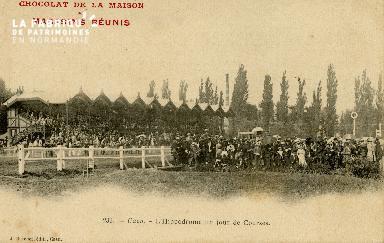 Cl 08 297 Caen l'Hippodrome un jour de Courses