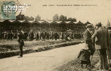 Cl 08 300 Caen Hippodrome de la Prairie un jour de Courses