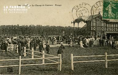 Cl 08 302 Caen le Champ de Courses Pesage