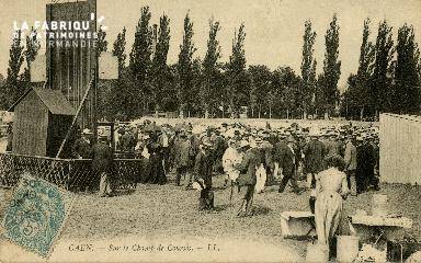 Cl 08 303 Caen sur le Champ de Courses