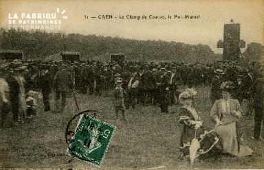 Cl 08 305 Caen le Champ de Courses le Pari-Mutuel