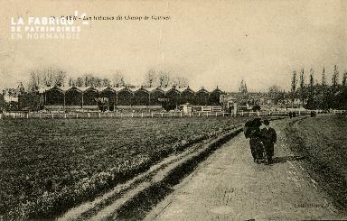 Cl 08 306 Caen les Tribunes du Champ de Courses