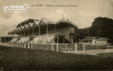 Cl 08 311 Caen Tribunes du Champ de Courses